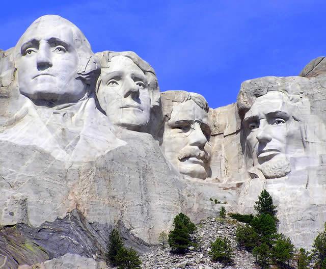 Monte Rushmore, Dakota do Sul, Estados Unidos
