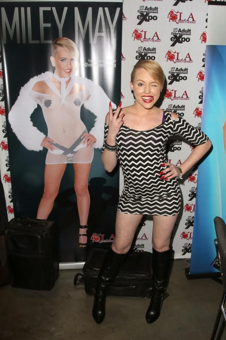 Event Photoshoot : Miley May Photoshot For AVN Adult Entertainment Expo Magazine Las Vegas 2014