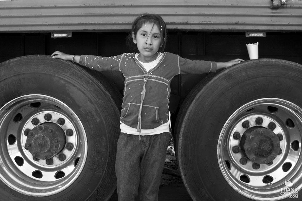 retrato de niña poblana