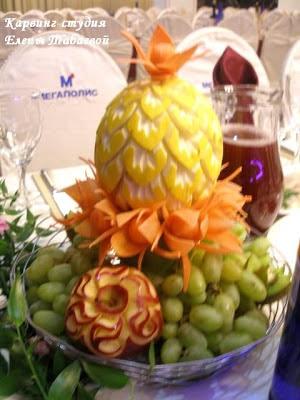 украшение фруктовыми композициями южно-сахалинск