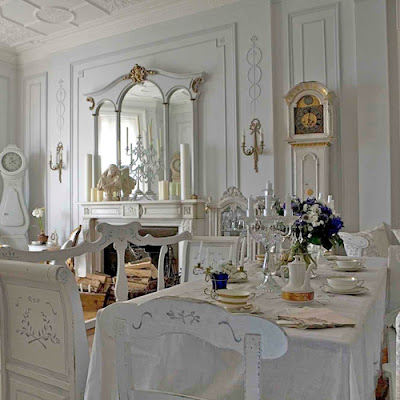 there 39 s no shortage of elegance in this formal dining room with the