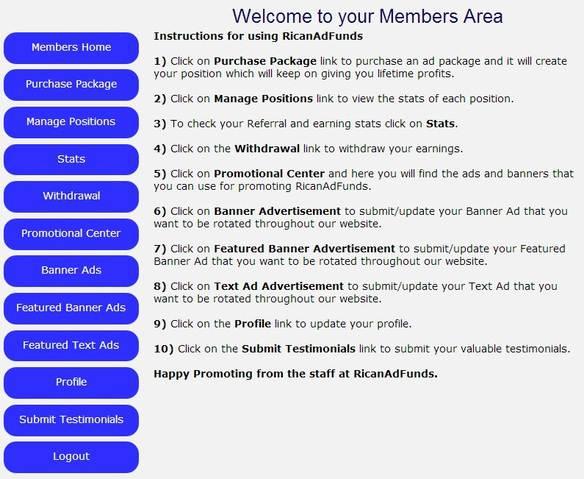 RicanAdFunds, Panduan RicanAdfunds, investasi, bisnis online
