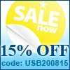 15% off, usb phone world