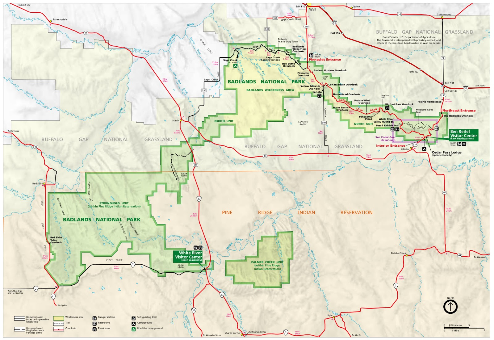 Us National Grasslands Map Globalinterco - Park and forest land us map