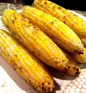 grill corn olive oil evoo clean eating healthy dinner recipe cookout