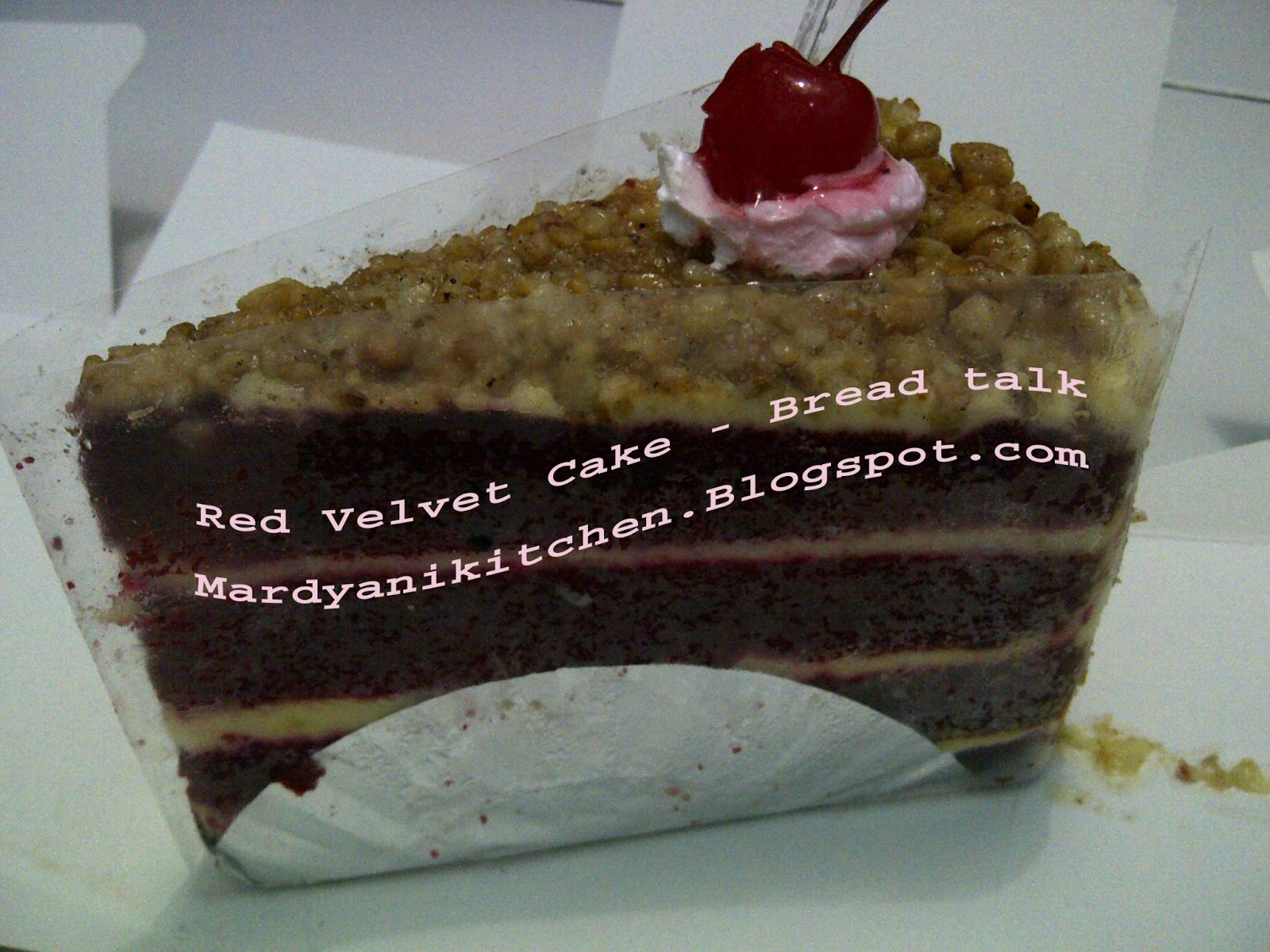 Mardyanis Kitchen Red Velvet Breadtalk