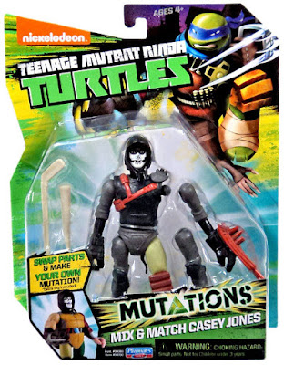 JUGUETES - LAS TORTUGAS NINJA : Mutations  Mix & Match Casey Jones | Muñeco - Figura  Teenage Mutant Ninja Turtles | TMNT | Nickelodeon  Producto Oficial 2015 | Playmates 90392 | A partir de 4 años  Comprar en Amazon