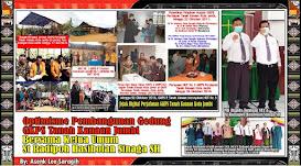 Rasa Optimisme Pembangunan GKPS Tanah Kanaan Jambi Bersama St Radipoh Hasiholan Sinaga SH