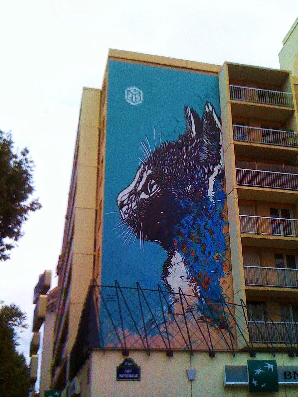 Octobre 2013 paris la douce - Galerie street art paris ...