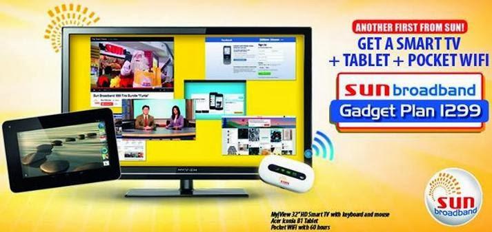 Sun Broadband Gadget Plan 1299