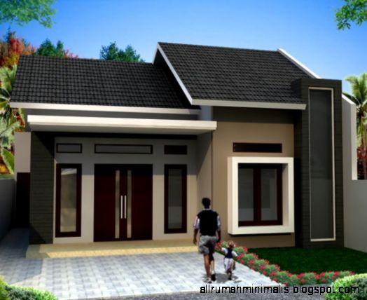 Gambar Desain Bentuk Rumah Sederhana Minimalis