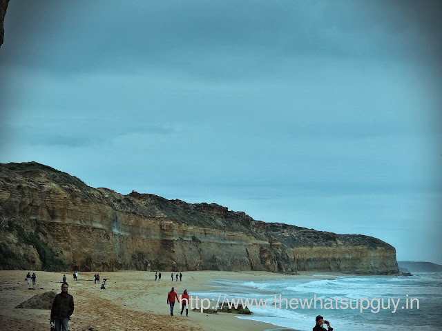 People at the Twelve Apostles
