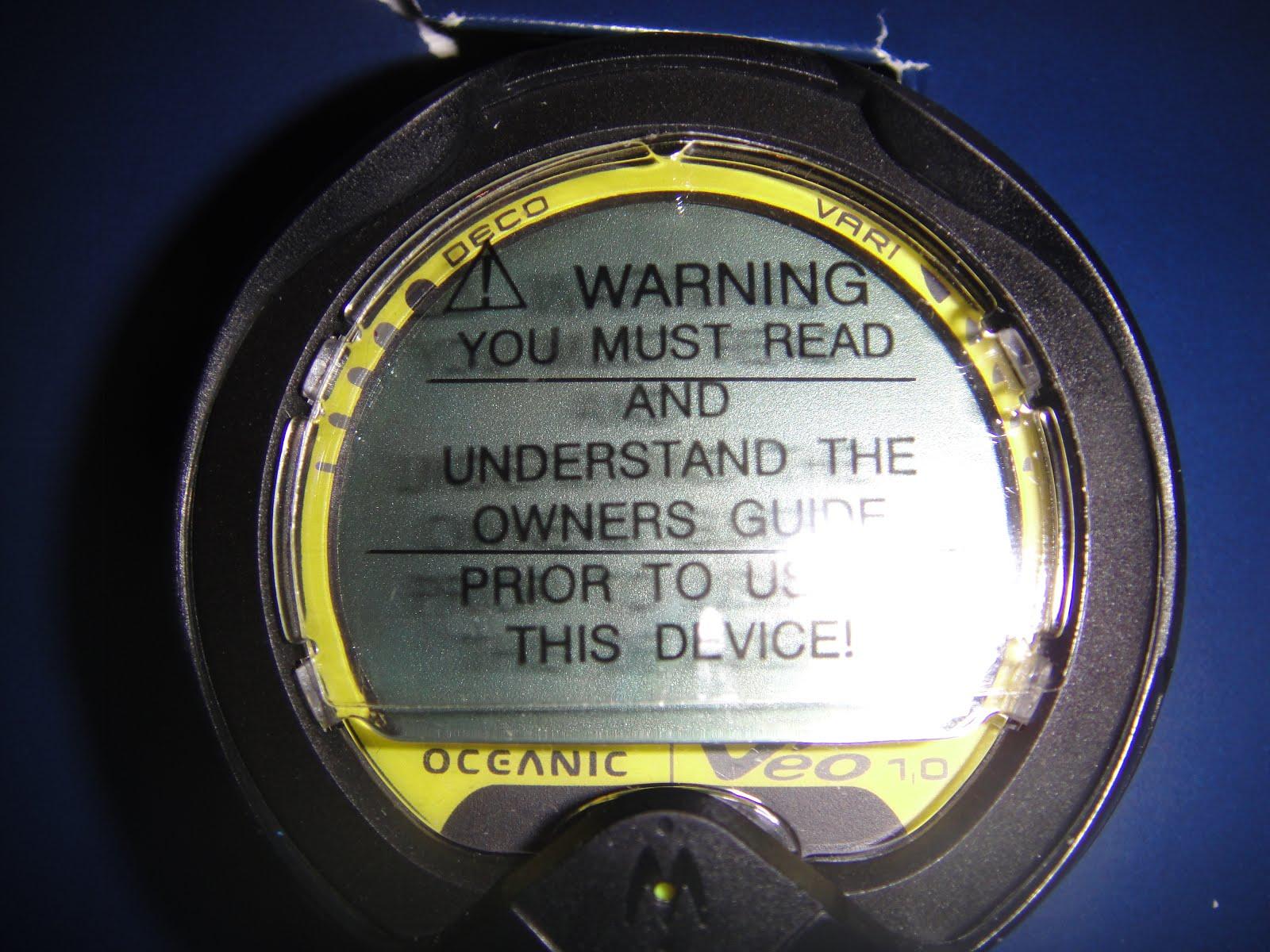 Πωλείται καινούργιο καταδυτικό κομπιούτερ Oceanic Veo 1 για χρήση με αέρα ή Nitrox τιμή:185 ευρώ