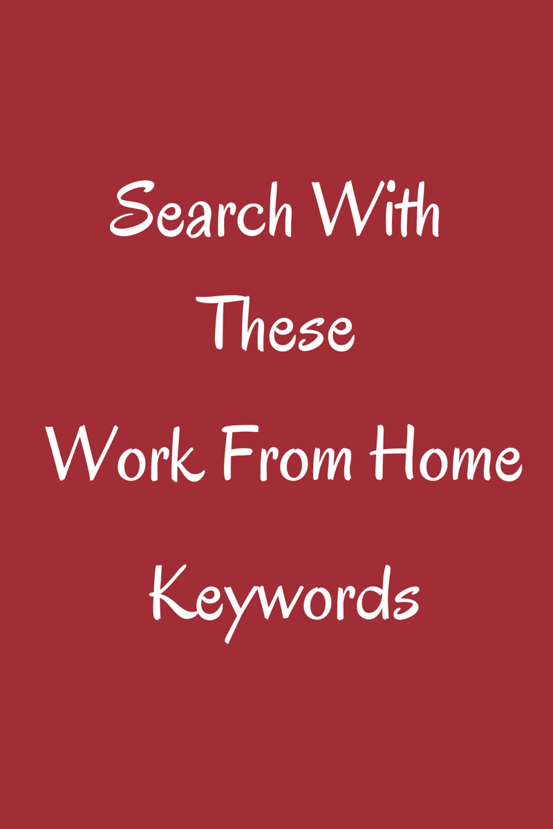 work from home keywords