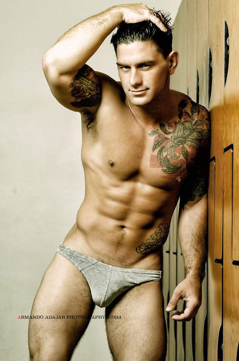 Bobby Creighton in Modus Vivendi underwear