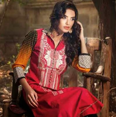 Sahil Winter Kurti Collection 2015 by Shariq Textiles