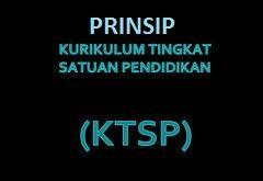 Prinsip-Prinsip Kurikulum KTSP