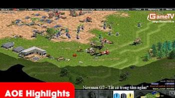 AOE Highlights, Chiến thuật đánh cung A ba lỗ được Gunny áp dụng rất tốt (BLV
