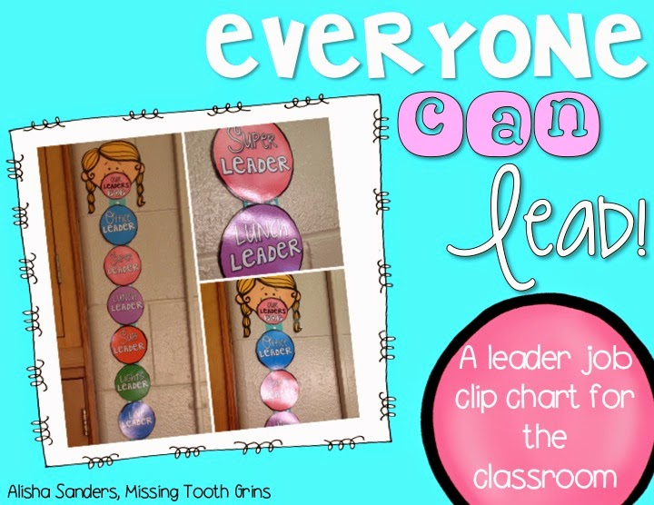 http://www.teacherspayteachers.com/Product/Classroom-Leader-Jobs-1372983