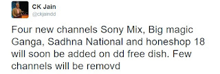 Here is new channels to be adding on DD Freedish