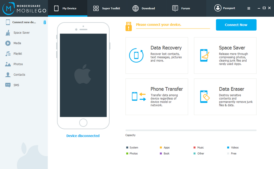 wondershare mobilego for android software free