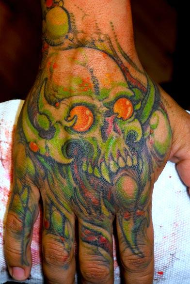 Grime Tattoo Artist
