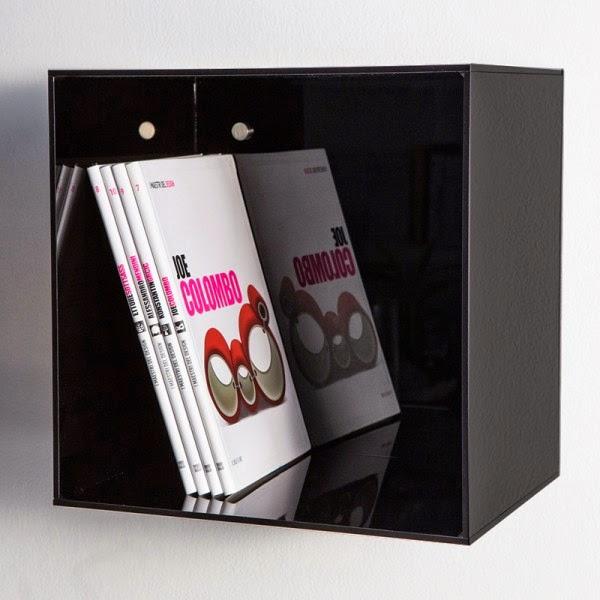 Esclusivo in plexiglass for Cubi in legno arredamento
