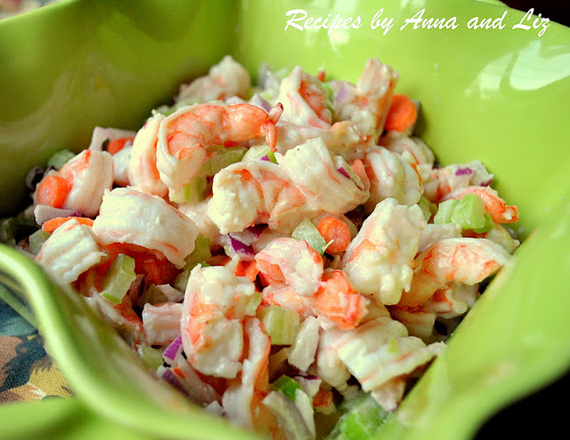 easy italian shrimp salad is a classic seafood dish you can enjoy ...