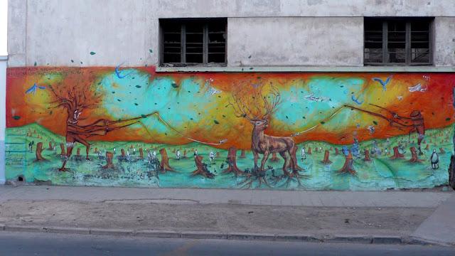 street art santiago de chile quinta normal arte callejero mutay