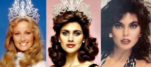 Misses Universo 84 - 85 - 86