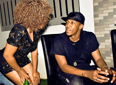 BBAfrica Winner Idris Sultan New Girlfriend Photo