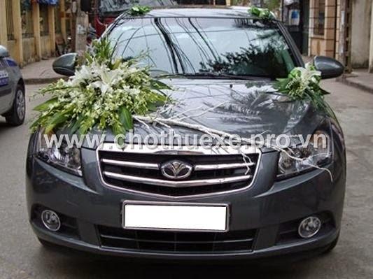 Cho thuê xe cưới Chevrolet Cruze đời mới