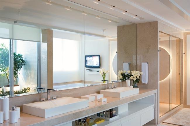 Banheiros # Banheiros Grandes Decorados Com Pastilhas