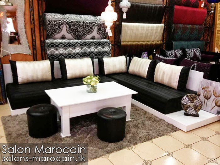 boutique salon marocain 2018 2019 tapissier marocain. Black Bedroom Furniture Sets. Home Design Ideas