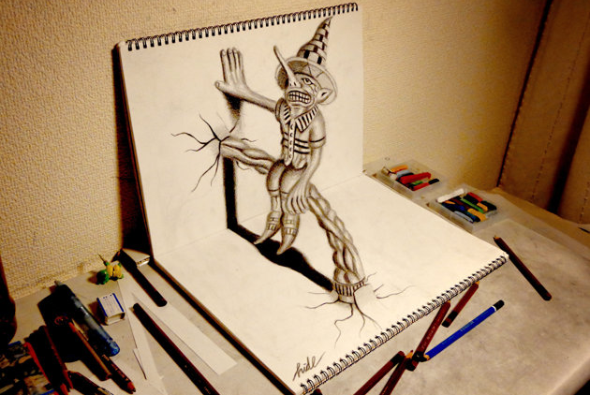 apprendre a faire dessin 3d