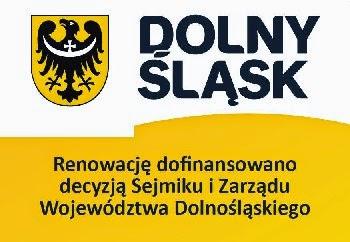 Znalezione obrazy dla zapytania Renowację dofinansowano decyzją sejmiku i zarządu województwa dolnośląskiego