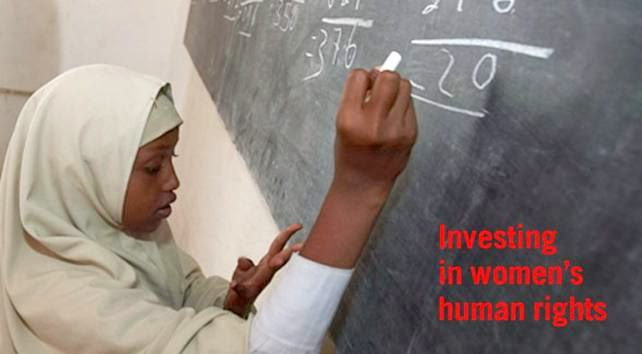 investing in women's rights