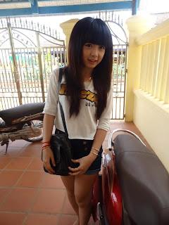 Mony Nget BBU Cute Girl Student On Facebook 1