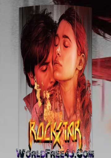 Poster Of Bollywood Movie Rockstar (2011) 300MB Compressed Small Size Pc Movie Free Download worldfree4u.com
