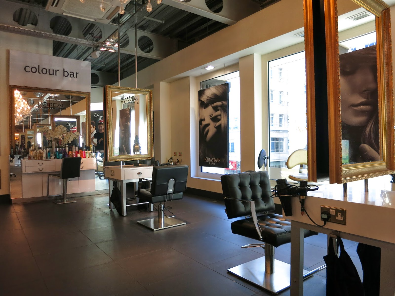top london hair salons