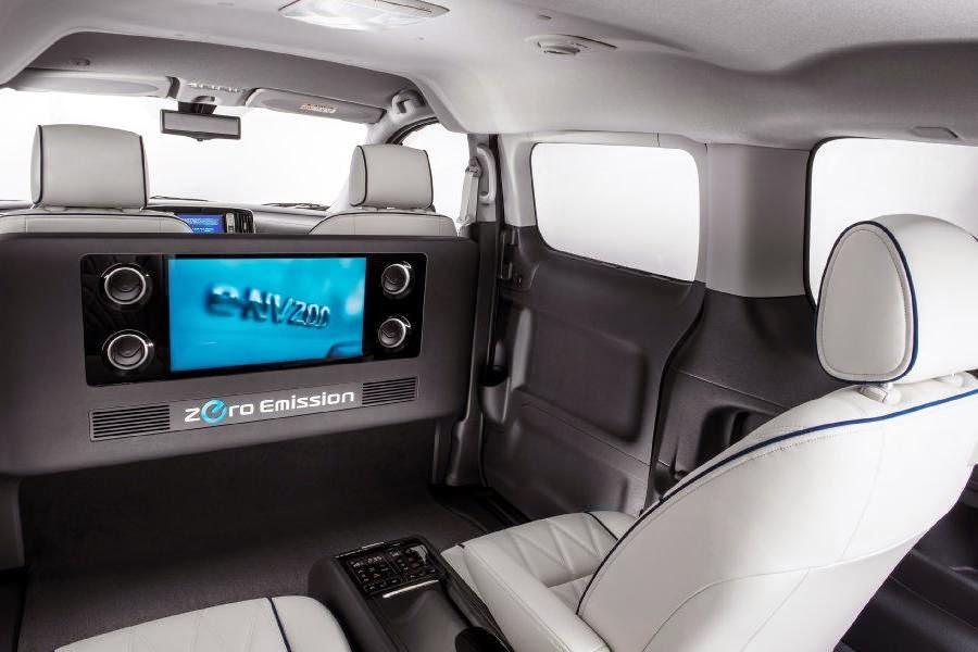 Nissan e-NV200 VIP Concept (2014) Interior 2