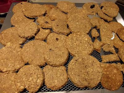 Oatcakes ecológicas (galletas de avena escocesas)