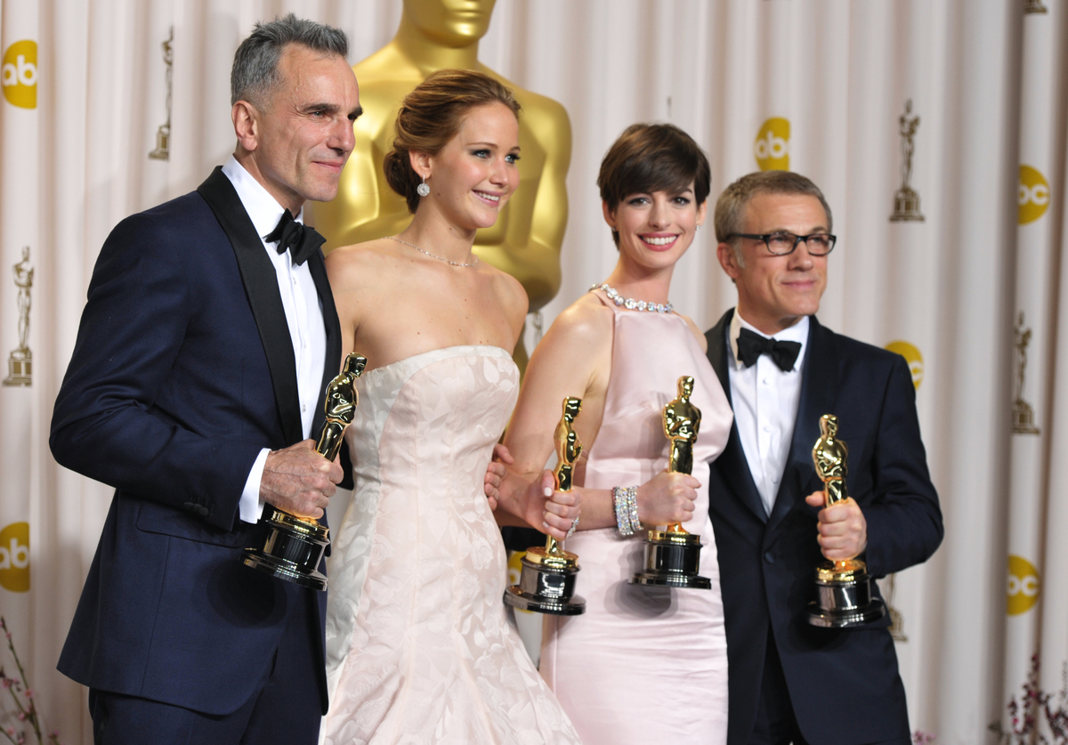 winners of the 2013 Oscars