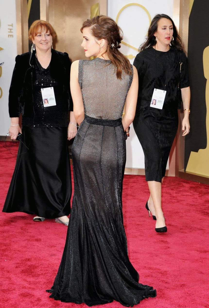 Emma Watson Photos at 86th Annual Academy Awards