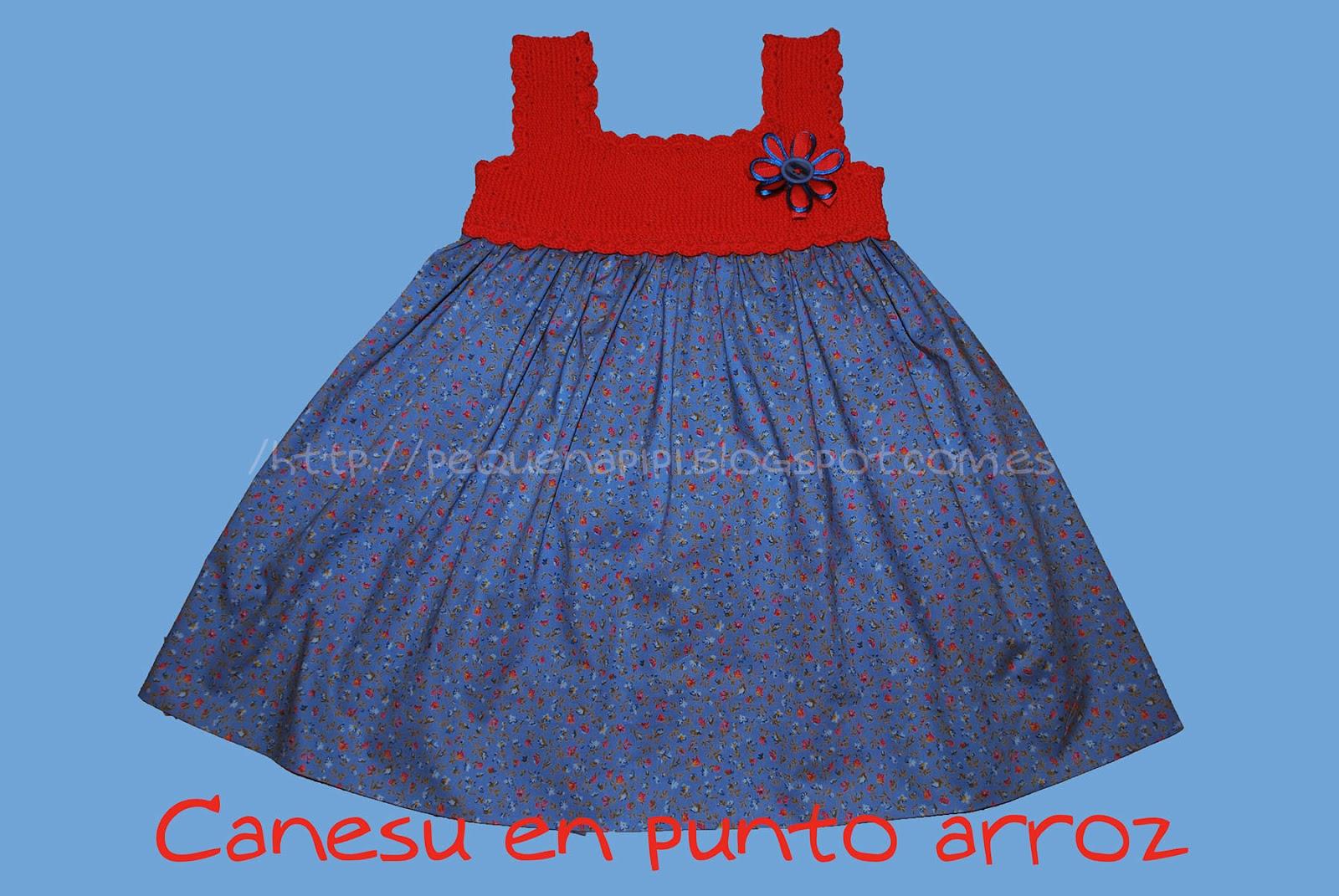 vestido - Vestido con canesu de punto arroz DSC_0257