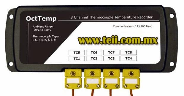 registrador octtemp de temperatura