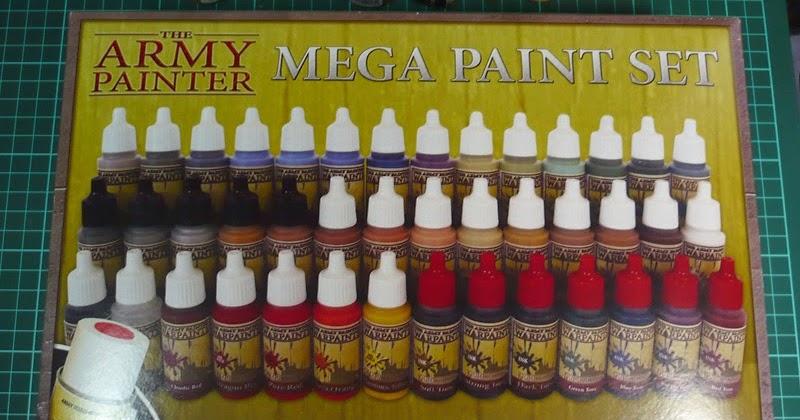 Army Painter Mega Paint Set Australia
