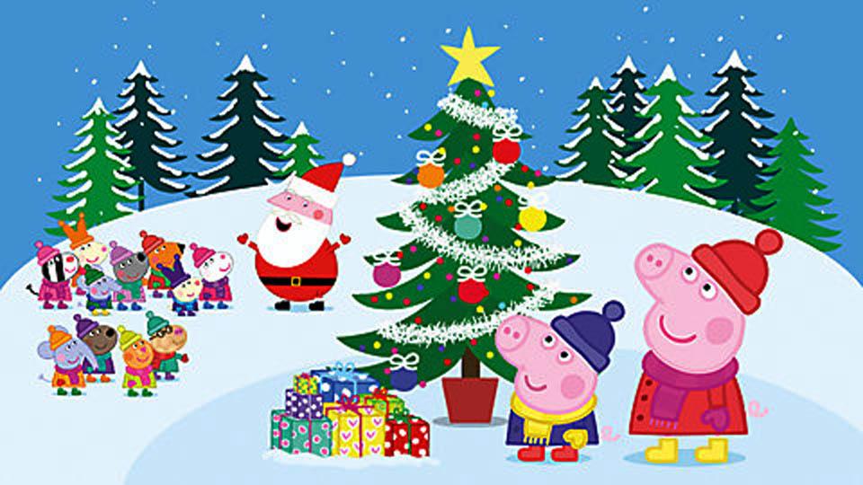Свинка пеппа смотреть про новый год