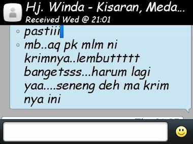 Testimoni Text SMS