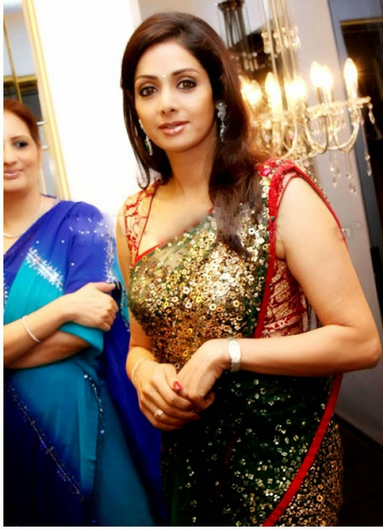 Sridevi Hot In Saree